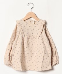 LAGOM/小花柄バルーン袖ブラウス/501528080