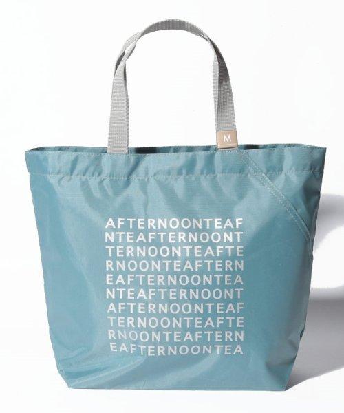 Afternoon Tea LIVING(アフタヌーンティー・リビング)/スリットポケット付きロゴバッグM/FU4019200101