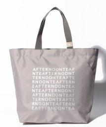 Afternoon Tea LIVING/スリットポケット付きロゴバッグM/501583736