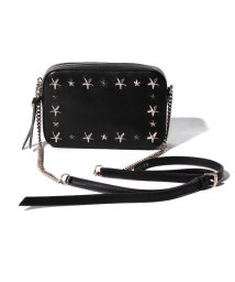 JIMMY CHOO/【JIMMYCHOO】LEATHER W/MULTI METAL STAR  TRIM/501587279