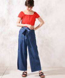 NICE CLAUP OUTLET/【natural couture】レトロガーリーブラウス/501589260