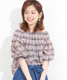 NICE CLAUP OUTLET/【natural couture】オフショルブラウス/501589317