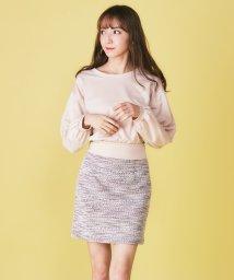 MIIA/ツィード風台形スカート/501593927