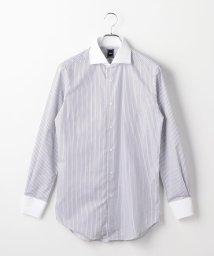 SHIPS MEN/SD: ロンスト クレリック ホリゾンタルカラー シャツ(カーキ)/501597863