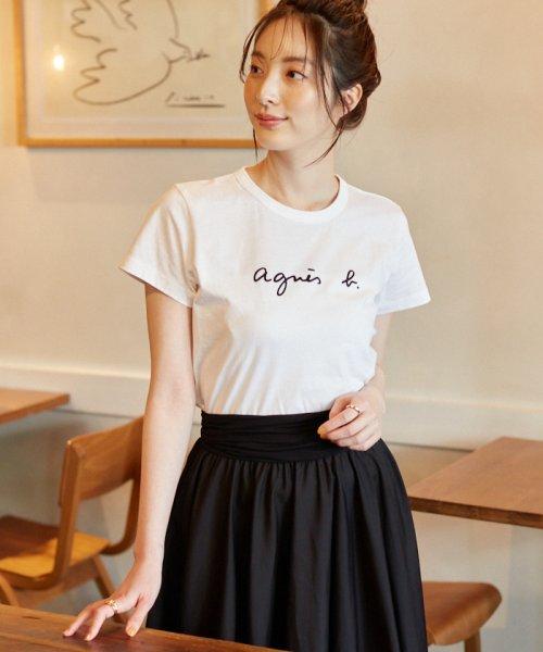 agnes b. FEMME(アニエスベー ファム)/S137 TS ロゴTシャツ /EA72S137E19P