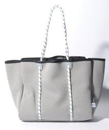 PI/【Via Demizon ビアデミゾン】ウエットスーツ素材のパンチングトートバッグ/501586217
