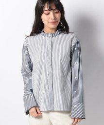 LA JOCONDE/【洗える】ブロードストライプシャツ/501590124