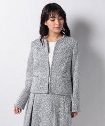 LA JOCONDE/【セットアップ対応】ファンシーツィードジャケット/501590130