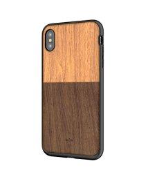 kajsa/〈Kajsa/カイサ〉Wood Pocket Backcase(iPhoneX/XS/XS MAX対応) ウッドポケット バックケース/501592283