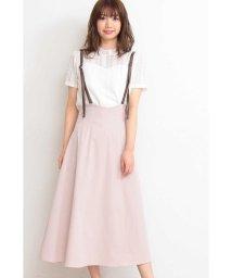 PROPORTION BODY DRESSING/|CanCam 5月号掲載|ストレッチツイルジャンパースカート/501595262