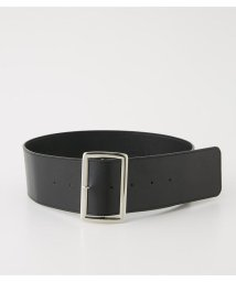 AZUL by moussy/SQUARE BUCKLE WIDE BELT/501598153