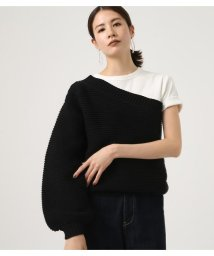 AZUL by moussy/ONE SHOULDER KNIT TOPS/501598162
