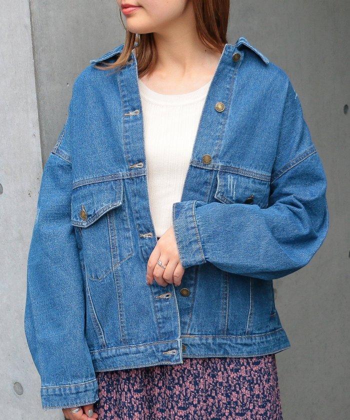 【WEB限定】BIGデニムジャケット