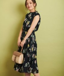 Noela/【セットアップ対応商品】ペールフラワープリントスカート/501599488