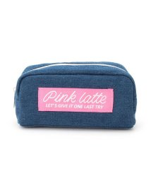 PINK-latte/太リボンロゴポーチ/501600150