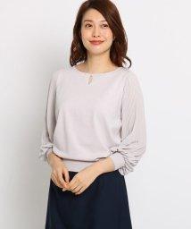 SunaUna/【洗える】プリーツシフォンプルオーバー/501600269