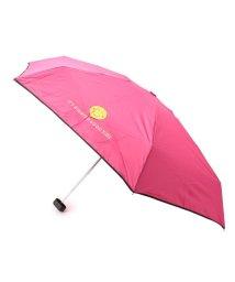 PINK-latte/スマイリーポーチ折り畳み傘/501600283