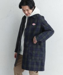 URBAN RESEARCH DOORS/DANTON NYLON TAFFETA CHECK COAT/501600394