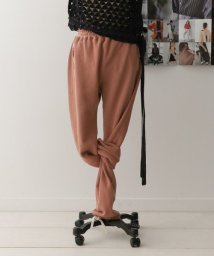 URBAN RESEARCH DOORS/unfil paper&cotton-terry pants/501600398