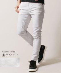 THE CASUAL/(バイヤーズセレクト)Buyer's Select 日本製トップ杢ダブルクロススキニージョガーパンツ/501444608