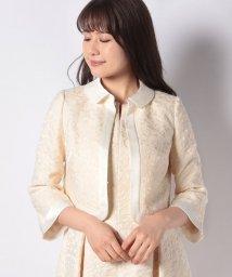 ELISA/【セットアップ対応商品】クリアヤーンフラワージャガードジャケット/501543602