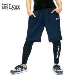 MARUKAWA/【Lynx SPORTS】リンクススポーツ  ハーフパンツ メンズ ジャージパンツ コンプレッション付き ハーフパンツセット トレーニング ランニング ジム /501579653