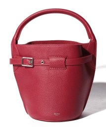 CELINE/【CELINE】2WAYハンドバッグ/SMALL BUCKET【RED】/501586436