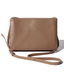 CELINE/【CELINE】ショルダーバッグ/TRIO SMALL【LIGHT CAMEL】/501586437