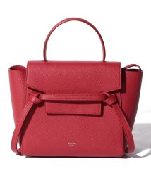 CELINE/【CELINE】2WAYハンドバッグ/NANO BELT BAG【RED】/501586442