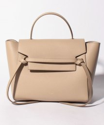 CELINE/【CELINE】2WAYハンドバッグ/MINI BELT BAG【LIGHT TAUPE】/501586445