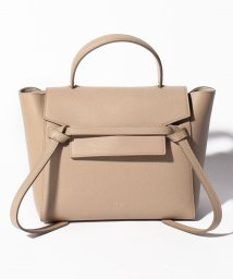 CELINE/【CELINE】2WAYハンドバッグ/MICRO BELT BAG【LIGHT TAUPE】/501586447