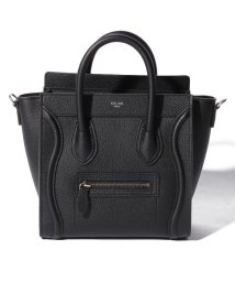 CELINE/【CELINE】2WAYハンドバッグ/NANO LUGGAGE【BLACK】/501586448