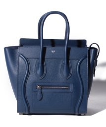 CELINE/【CELINE】2WAYハンドバッグ/MICRO LUGGAGE【DARK INDIGO】/501586449
