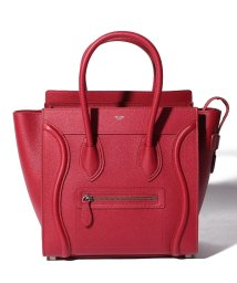 CELINE/【CELINE】2WAYハンドバッグ/MICRO LUGGAGE【RED】/501586450