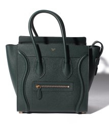 CELINE/【CELINE】2WAYハンドバッグ/MICRO LUGGAGE【AMAZONE GREEN DARK】/501586451