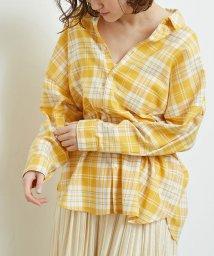 ROPE' PICNIC/チェックチュニックシャツ/501600940