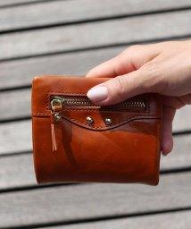 ninon/【本革】 エナメル 二つ折り財布 / ウォレット/501602710