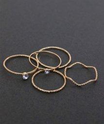 ninon/シンプル5点セット リング / 指輪セット/501602732