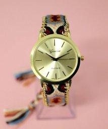 ninon/チェーントリミング ミサンガウォッチ / レディース腕時計/501602750
