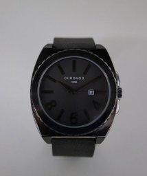 ninon/【CHRONOS】 大ぶりスクエア アナログウォッチ / ユニセックス腕時計/501602754