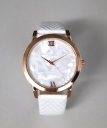 ninon/【シェル調文字盤】 シンプルアナログウォッチ / レディース腕時計/501602756