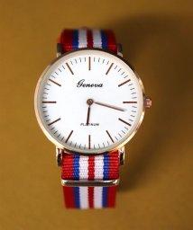 ninon/【geneva】 NATOベルト シンプルウォッチ / ユニセックス腕時計/501602760