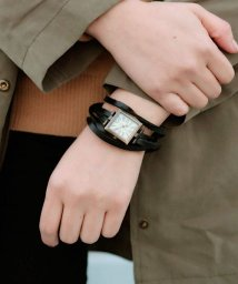 ninon/アンティーク スエードブレスレット アナログウォッチ / レディース腕時計/501602762