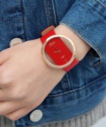 ninon/【シースルー】 シンプル アナログウォッチ / レディース腕時計/501602764