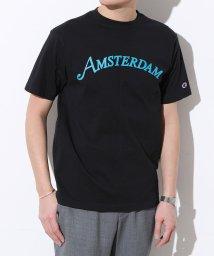 ADAM ET ROPE'/【Champion】別注 ロゴプリントTシャツ/501602975