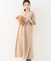 IENA/CURRENTAGE バックオープンシャツドレス/501602998