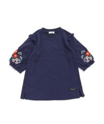 BREEZE / JUNK STORE/袖刺繍ワンピース_9分袖/501475489