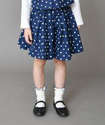 branshes/ドット柄キュロットスカート(90~150cm)/501568895