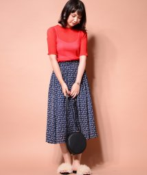 NICE CLAUP OUTLET/【natural couture】キラっとプリーツメローブラウス/501597384