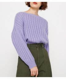 SLY/MOHAIR LIKE OFF SHOULDER TOPS/501600904
